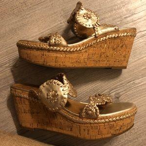 jack rogers cork wedge heel sandal